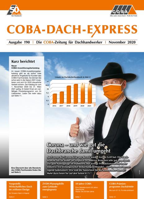 COBA-Dach-Express 190 November 2020