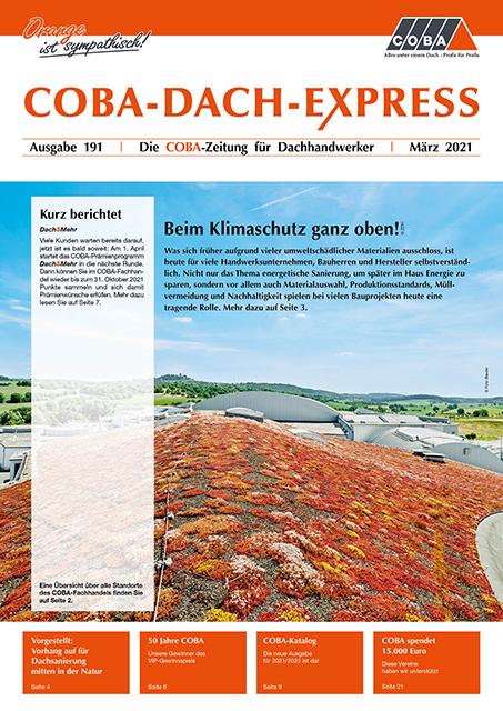 COBA-Dach-Express 191, März 2021