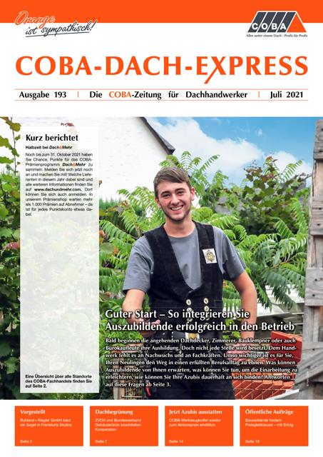 COBA-Dach-Express 193 Juli 2021
