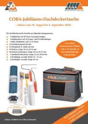 COBA-Jubiläums-Dachdeckertasche zum Aktionspreis