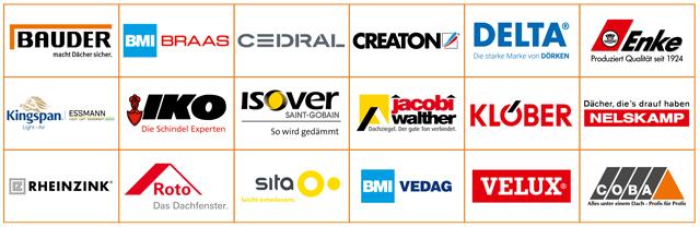 Teilnehmende Lieferanten bei Dach&Mehr 2020