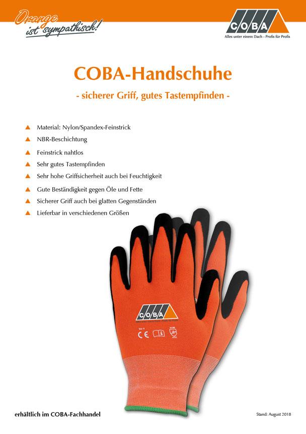 COBA-Handschuhe