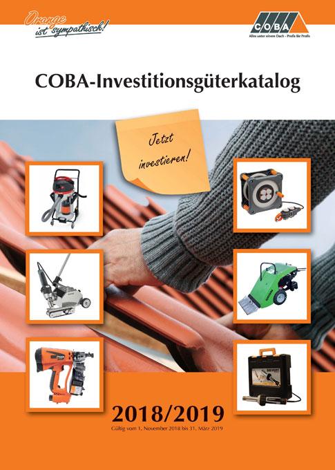 COBA-Investitionsgüterkatalog