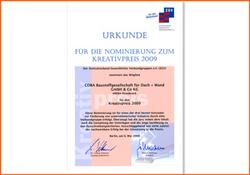 2009 COBA-Weiterbildungsprogramm IQ wird ausgezeichnet