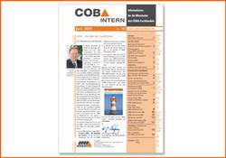2001 erscheint die erste COBA-Mitarbeiterzeitung