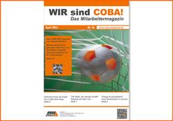 2012 Neugestaltung des COBA-Mitarbeitermagazins